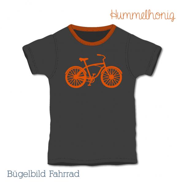 Bügelbild Fahrrad