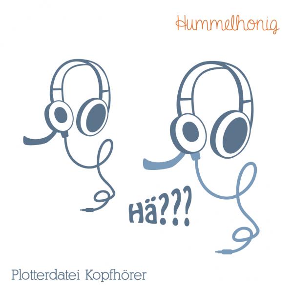 Plotterdatei Kopfhörer
