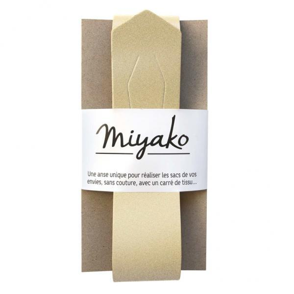 Taschengriff Miyako gold