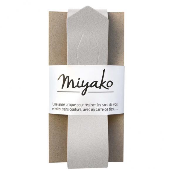 Taschengriff Miyako silber