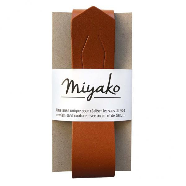 Taschengriff Miyako braun