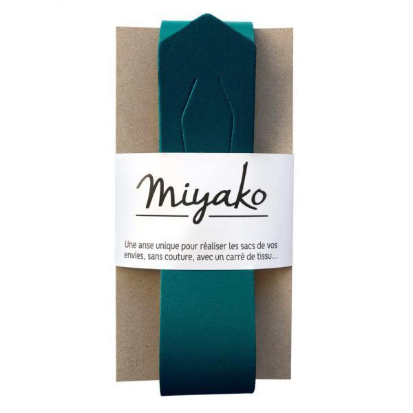 Taschengriff Miyako petrol