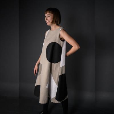 Trapeze Schnittmuster Kleid